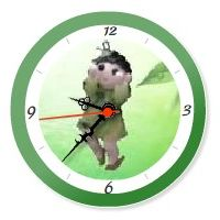 YukaRebornTARO Clock 1 (green).jpg