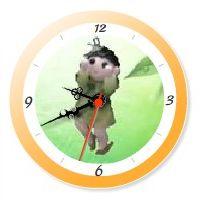 YukaRebornTARO Clock 1 (orange).jpg