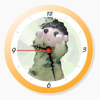 YukaRebornTARO Clock 2b (orange).jpg