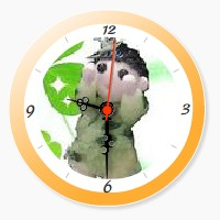 YukaRebornTARO Clock 3b (orange).jpg