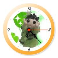 YukaRebornTARO Clock 5 (orange).jpg