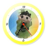 YukaRebornTARO Clock 6 (yellow).jpg